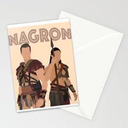 Nagron (Spartacus) Stationery Cards