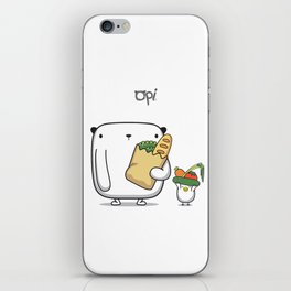 OPi Buy Vegetables iPhone Skin