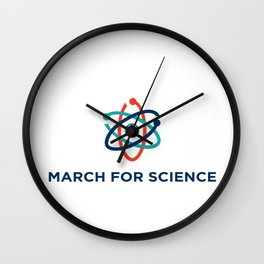 march for science Wall Clock