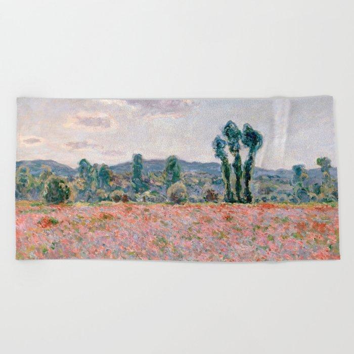 Monet Beach Towel
