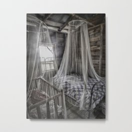 Night Protection Metal Print