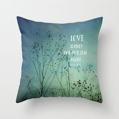 One Fine Star Away Throw Pillow