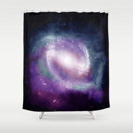 Space Clouds Shower Curtain