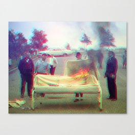 Burn Body Burn (1/2) Canvas Print