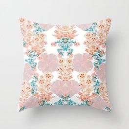Floral Luxury Throw Pillow