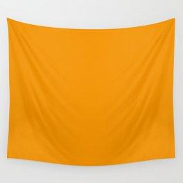Bright Orange Wall Tapestry
