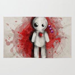 Halloween Theme [Voodoo Doll] Rug