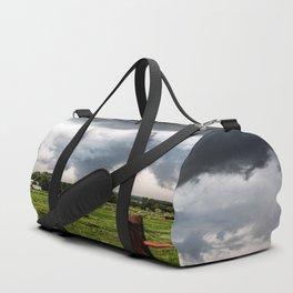 Siren - Large Tornado In Texas Panhandle Duffle Bag