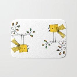 Nosy Bird Bath Mat