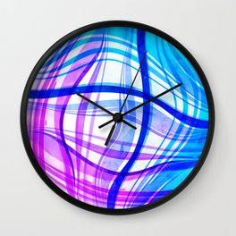 Abstract Vivids Wall Clock