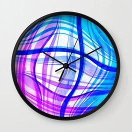 Abstract Vivids Wall Clock