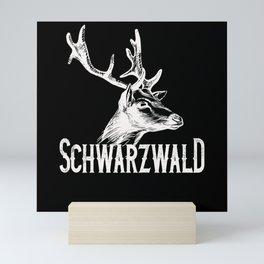 Schwarzwald Heimat Reh Mini Art Print