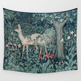 William Morris Forest Deer Wall Tapestry
