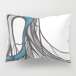 Flowing Lines Pillow Sham