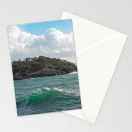 PORTRAIT OF SECRETARY ISLAND, BC TROPICS 2K16 Stationery Cards
