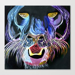 Fantasy Panther Canvas Print