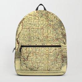 Map of Louisiana (1895) Backpack