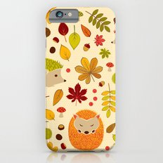 Hedghogs and Chestnuts iPhone 6 Slim Case