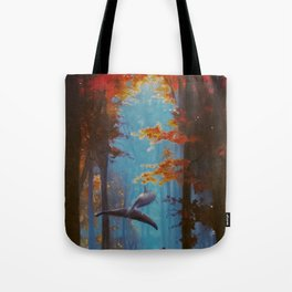 Into the Fall Tote Bag
