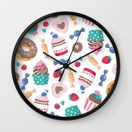 Sweet pattern Wall Clock