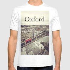 Oxford gargoyle White MEDIUM Mens Fitted Tee