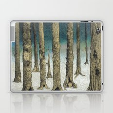 Snowy Woods Laptop & iPad Skin