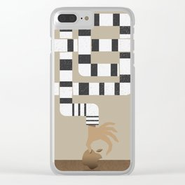 Who stole my Mac? Clear iPhone Case