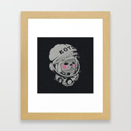 Spaceman cat Framed Art Print