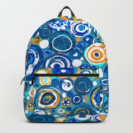 Lost Marbles - Blue Backpack