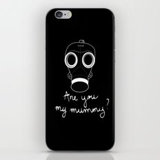 Doctor Who - Are you my mummy ? iPhone & iPod Skin