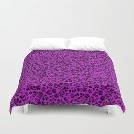 Vintage Flowers Dazzling Violet Duvet Cover