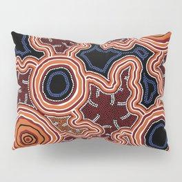 Aboriginal Art Authentic - Pathways Pillow Sham