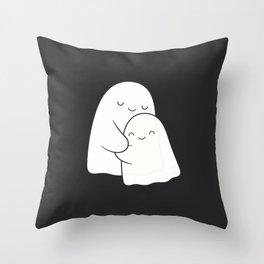 Ghost Hug - Soulmates Throw Pillow