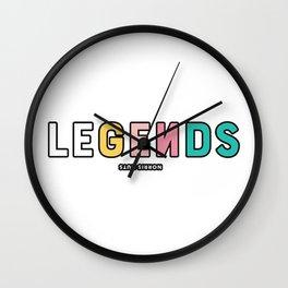 Norris Nut Wall Clock
