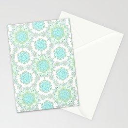 Mandala_Cerulean Sand Stationery Cards