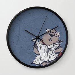 A Geeky Marmot Wall Clock