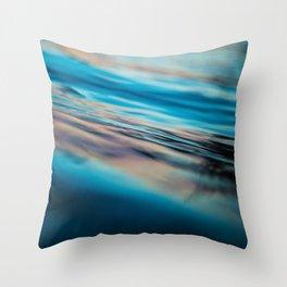 Oily Reflection Throw Pillow