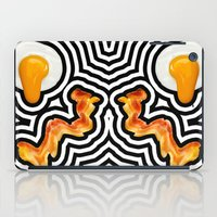 bacon iPad Cases featuring Bacon & Eggs by Tyler Spangler