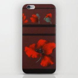 Coquelicots iPhone Skin