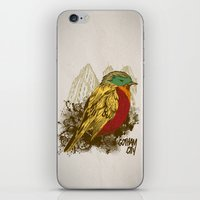 robin iPhone & iPod Skins featuring Robin by Krikoui