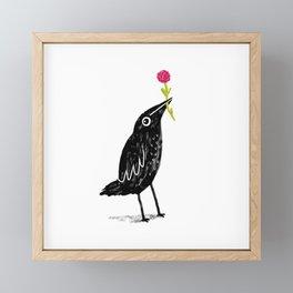 Caw Blimey Framed Mini Art Print