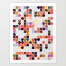 color festival Art Print