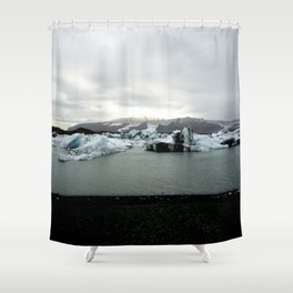 Iced Cooly Shower Curtain