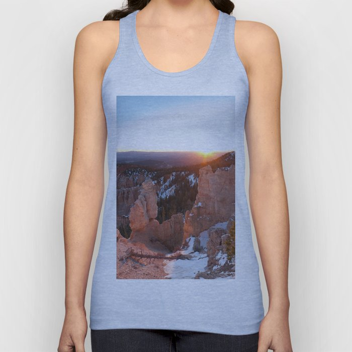 Bryce Canyon Sunrise Unisex Tank Top