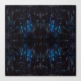 Mid-Night Blues Canvas Print