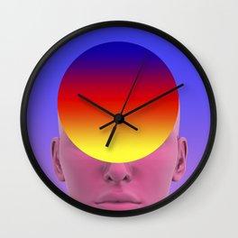 Gradient face Wall Clock