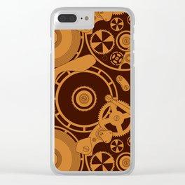Clockwork 1 Clear iPhone Case