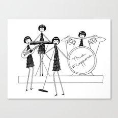 Flapper Band Canvas Print