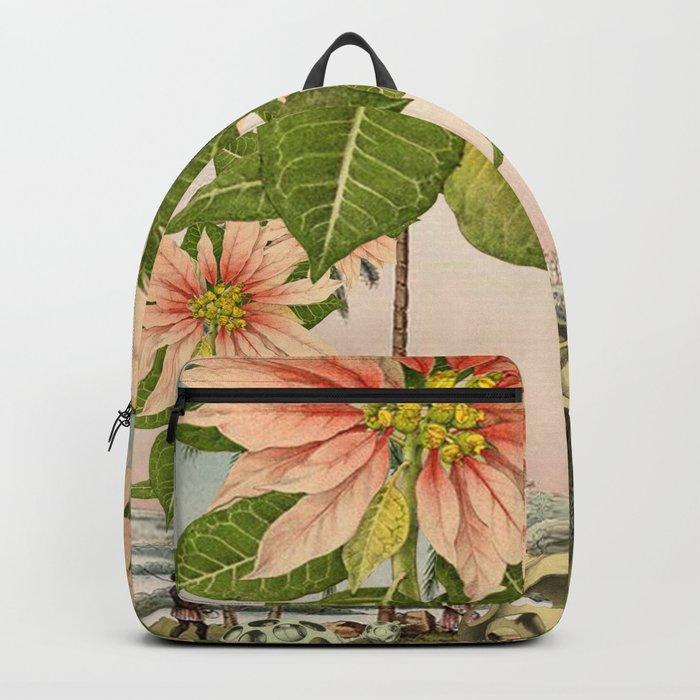 POINSETTIA TREES Backpack
