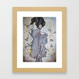 She Looks Trustworthy Framed Art Print